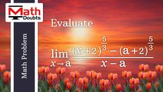 Learn how to find limit of algebraic function - as x approaches a in calculus. Adding And Subtracting, Math Problems, Problem And Solution, Calculus, Mathematics, This Or That Questions, Learning, Math