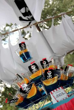 Pirate Birthday Party Ideas | Photo 13 of 68 | Catch My Party