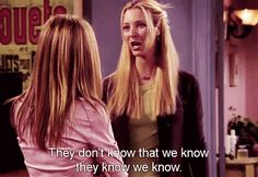 """You never talk about them behind their back. 