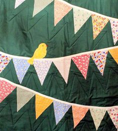 Handmade Applique Baby Quilt by Scsteinberg on Etsy, $85.00