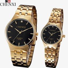 CHENXI Lovers Quartz Watch Women Men Gold Wrist Watches Top Brand Luxury quartz-watch Relogio Feminino Masculino Montre Femme $26.70   => Save up to 60% and Free Shipping => Order Now! #fashion #woman #shop #diy  http://www.greatwatch.net/product/chenxi-lovers-quartz-watch-women-men-gold-wrist-watches-top-brand-luxury-quartz-watch-relogio-feminino-masculino-montre-femme/