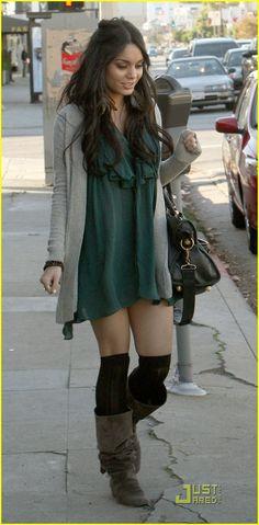 Vanessa Hudgens (December 2008) interesting style.