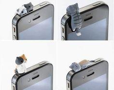 Cosas que querrás usar para tu telefono .jejejejeje yo pienso tener unos cuantos en tamaño real y ponerlos en la ventanas o terraza
