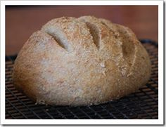 The Easiest Home made Bread - No Kneading! No Kitchen Aid! No Bread Machine!  Super easy,  You barely mix together the ingredients, and let it rise!  Then Bake.  Really, if making bread has scared you before, I am not kidding that this is the easiest bread you will EVER Make!!!