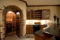 Unique Wet and wine cellar combo in Plan 013S-0010 | House Plans and More