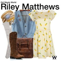 Inspired by Rowan Blanchard as Riley Matthews on Girl Meets World.                                                                                                                                                                                 More