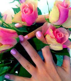 Macaroon Nail Colour in Rose #KitCosmetics