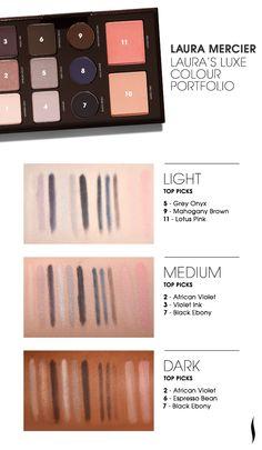Laura Mercier Laura's Luxe Colour Portfolio #Sephora #eyecandy