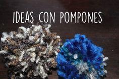En este artículo te mostraremos algunas ideas para decorar con pompones de lana.  Si querés antes aprender a crear pompones de lana te recomendamos este artículo.