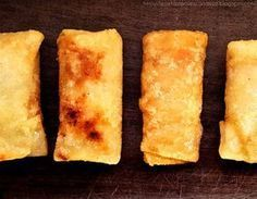 How to easily make spring roll dough. The real one! FÁCIL Y SIN GLUTEN! Gluten Free Recipes, Healthy Recipes, Delicious Recipes, Empanadas, Mini Foods, Spring Rolls, Dim Sum, Light Recipes, Delish
