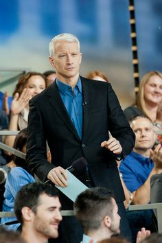 The lovely Anderson Cooper Movies Showing, Movies And Tv Shows, Cnn Anchors, Anderson Cooper, Good Looking Men, Man Crush, Over The Years, Favorite Tv Shows, Movie Tv