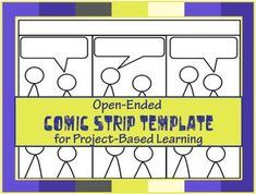 Comic Strip Template, Comic Strips, Create A Comic, Social Studies Classroom, Six Words, Toddler Learning Activities, Project Based Learning, Upper Elementary, Student Work