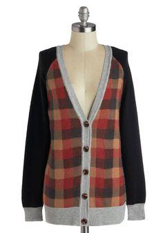 Clever Mind Cardigan | Mod Retro Vintage Sweaters | ModCloth.com