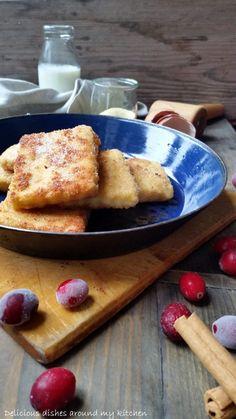 Hallo Ihr Lieben, heute habe ich für Euch eine meiner Lieblings- Süßspeisen die ich schon aus meiner Kindheit kenne mitgebracht, knusprig gebratene Grießschnitte! Das Rezept stammt aus einem Koch- …