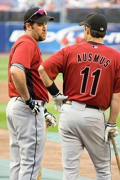 Lance Berkman and Brad Ausmus.  Double your pleasure.