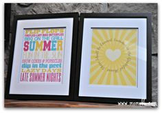 The 10 Best Free Summer Subway Art Printables! - MomOf6