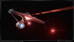 Star Trek Movies, Sci Fi Movies, Star Trek Tos, Star Wars, Uss Enterprise Ncc 1701, Star Trek Ships, Movie Stars, Geek Stuff, Live Long