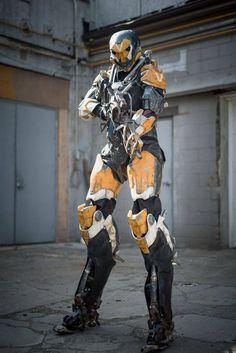 Futuristic Armour, Futuristic Art, Anthem Bioware, Anthem Game, Gundam, Armadura Cosplay, Transformers, Sci Fi Armor, Future Soldier