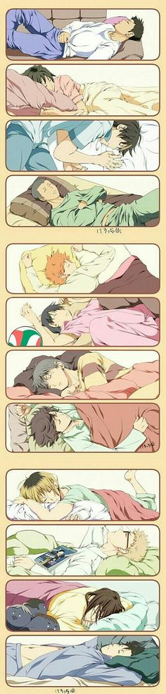 I wanna sleep with Asahi