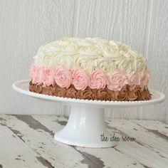@I am Baker's Neapolitan Rose Cake