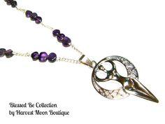 Goddess Necklace Goddess Jewelry Wiccan Jewelry by AngiePinkal