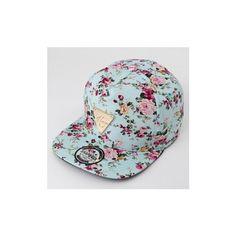 Men Women Floral Flower Adjustable Snapback Baseball Hats Flat  Hip... ($6.39) ❤ liked on Polyvore featuring men's fashion, men's accessories, men's hats, black, hats, mens ball caps, mens floral snapback, mens baseball hats and mens floral hats