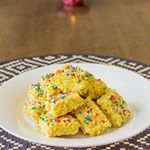 Milk barfi is the bomb! An Indian sweet full of milky goodness and mouth watering aroma. Recipe through bio link ❤️ #barfi #recipe #fiji #fijian #fijifood #fijistyle #indian #indianfood #sweet #indiansweet #yummy #exotic #milk #aromatic #colourful #food #foodporn #foodstagram #foodie #thatfijitaste #fresh #tasty #dessert #delicious #try #nomnomnom #vegetarian #love #amazing