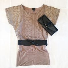 Last chance! RUE 21 Tunic Beautiful tunic ! Comes with the belt! Could be worn as a dress as well! Rue 21 Tops Tunics