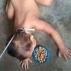 Indignaci�n por maltrato a beb� publicado en Facebook