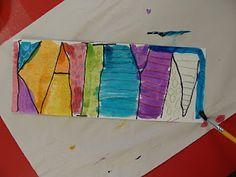beginning of first grade name art