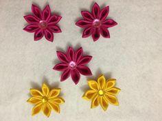 Flores de satén