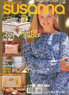 (1) Gallery.ru / Фото #1 - 149 - Mosca Cross Stitch Tree, Cross Stitch Embroidery, Embroidery Patterns, Cross Stitch Magazines, Stitch 2, Knit Crochet, Knitting, Books, Angelo