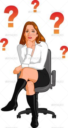 VECTOR DOWNLOAD (.ai, .psd) :: https://realistic.photos/article-itmid-1000035851i.html ... Businesswoman Thinking ... Businesswoman Thinking    ... Vectors Graphics Design Illustration Isolated Vector Templates Textures Stock Business Realistic eCommerce
