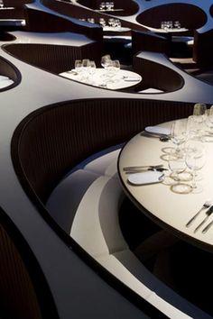 unique interior designs...restaurant
