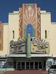 Boulder Theater. Art Deco