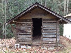 19th century smokehouse