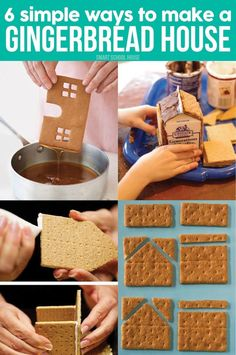 How to Make a Gingerbread House- Knowing how to make a gingerbread house is something everybody wants to be able to do during the holiday season!