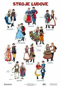 Folklore, Poland Costume, Folk Costume, Costumes, Harmony Day, Polish Language, Visit Poland, Polish Folk Art, Folk Clothing