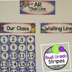 """""""This quiz line saves me so much time and my students love to put their number on the waiting list. Just perfect for #classroommanagement!"""" https://instagram.com/p/6N2-QjgG-_/"""