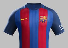 Camisas do barcelona 2016-2017 Nike 2