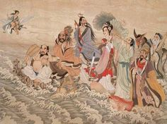 The Eight Immortals of Taoism, who each gained immortality through different means practice in teaching others the way of Taoism as well as going on journeys together, exploring the world.