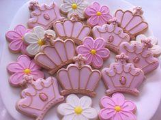 Princess Cookies by Vanilla Art Cookies