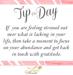 A little recipe for feeling better in no time at all... #Tipoftheday