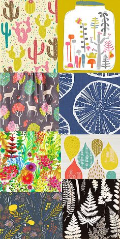 The next Print & Pattern book will be on the subject of..... Nature!