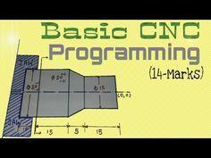 CNC G Code Programming: A CNC Mill Tutorial explaining G Codes - YouTube