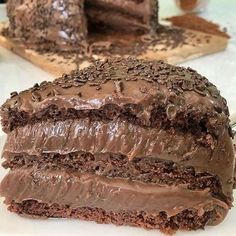 Sweet Recipes, Cake Recipes, Nutella, Food Wishes, Good Food, Yummy Food, Cake Fillings, Cake Boss, Quick Easy Meals