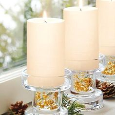Easy DIY for everyday and holiday! #partylite #candles #decoration #winter #talvi #vinter