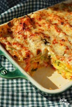una lasagna vegetariana bimby