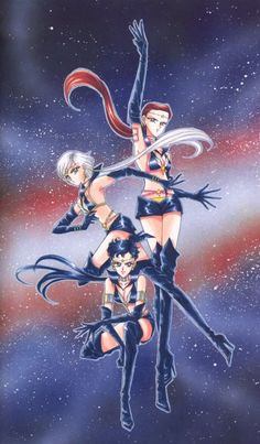Naoko Takeuchi, Bishoujo Senshi Sailor Moon, Sailor Star Maker, Yaten Kou, Sailor Star Fighter