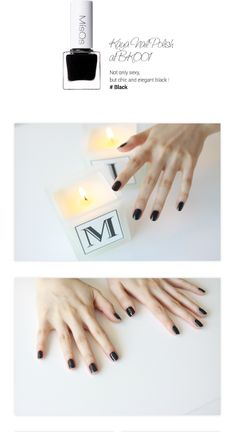 [MISQS] Kaya Nail Polish Ver.1 (5Color)  Smooth application shows this polishes great shine and tredy color.  # Red (RD001) # Black (BK001) # Shiny Pink 1 (SP001) # Grey (GY001) # Basecoat  Brand : MISQS Volume : 5ml (1EA) All Skin Types Made in Korea $3.99